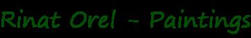 Rinat Orel Paintings Logo